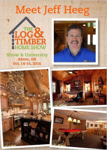 Akron OH Log & Timber Home Show October 14 15 16 2016