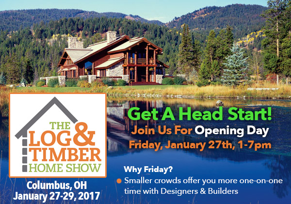 Columbus, OH | Log & Timber Home Show | Workshop | January 2017