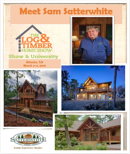 Satterwhite Log Homes | Atlanta, GA 2018 Log & Timber Home Show | March 3-4, 2018 | Workshop
