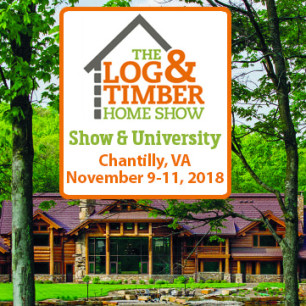 Chantilly, VA Log Home Show | November 9-11, 2018 | Dulles Expo Center | Timber Frame Home | Log Home