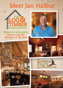 Workshop Spotlight | Golden Eagle Log & Timber Homes | Kansas City, MO | February 22-24, 2019 | Log & Timber Home Show