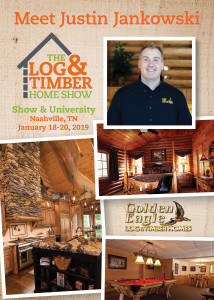 The Log & Timber Home Show | Workshop Spotlight | Nashville, TN | January 18-20, 2019 | Golden Eagle Log & Timber Homes