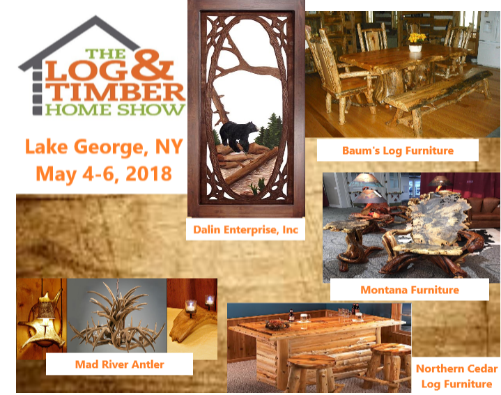 Lake George NY Collage 2018 furniture